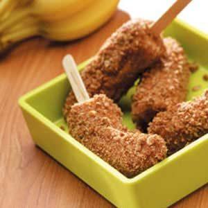 Granola Banana Sticks