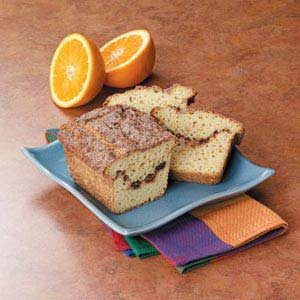 Orange Cinnamon Swirl Bread