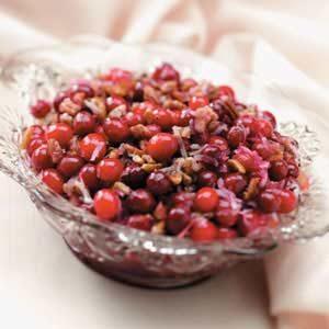 Baked Cranberry Pecan Sauce