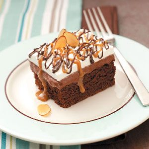 Fudgy Chocolate Dessert