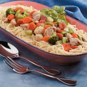 Colorful Chicken Pasta