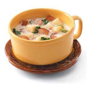 Kielbasa Potato Chowder