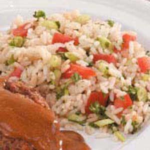Tomato Rice Pilaf