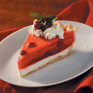 Cranberry Cream Cheese Pie