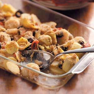 Antipasto Potato Bake