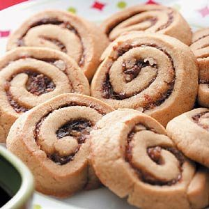Chewy Date Pinwheels
