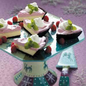 Raspberry Cream Cheesecake