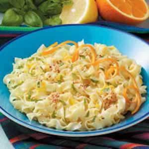 Sesame Seed Citrus Noodles