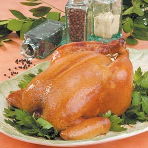 Brined Roasting Chicken