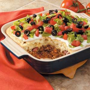 Biscuit-Topped Taco Casserole