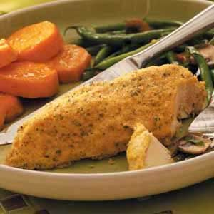 Crumb-Coated Baked Chicken