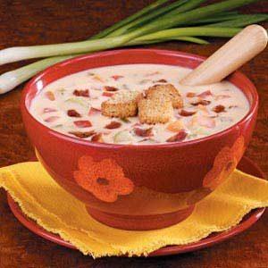 Savory Cheese Soup