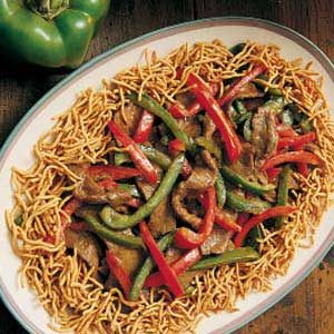 Spicy Beef with Peppers
