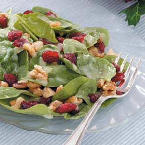 Special Spinach Salad