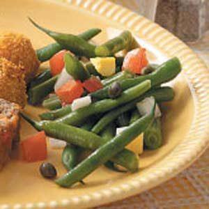 Colorful Green Bean Salad