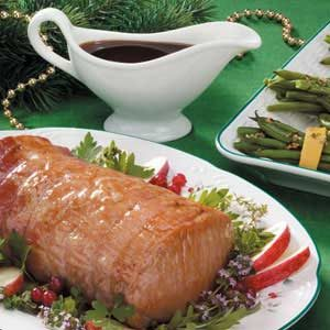 Apple-Glazed Pork Loin
