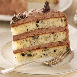 Chocolate Mint Cream Cake