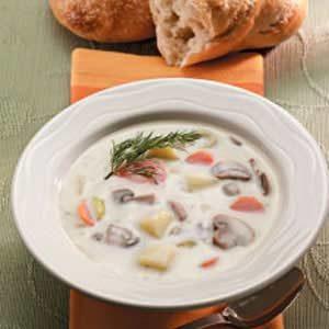 Mushroom Potato Soup