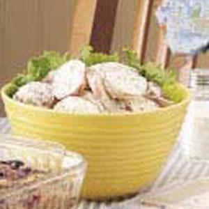 Horseradish Dijon Potatoes