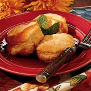 Maple Biscuit Dessert