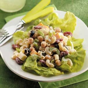 Macaroni Bean Salad