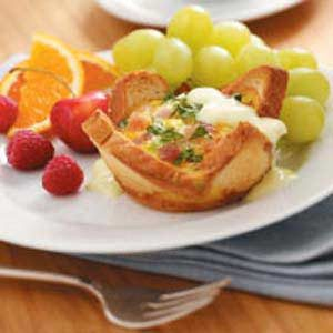 Eggs Benedict Cups for Two