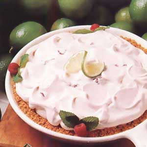 Raspberry Lime Pie