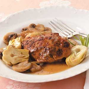 Sherried Artichoke Chicken