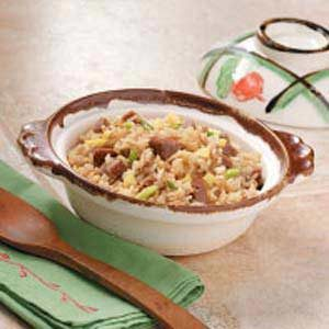 Speedy Pork Fried Rice