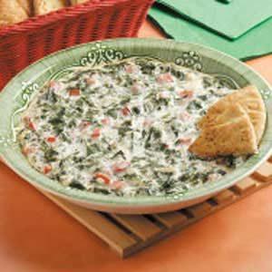 Spinach Tomato Spread