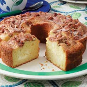 Nutty Cream Cheese Coffee Cake