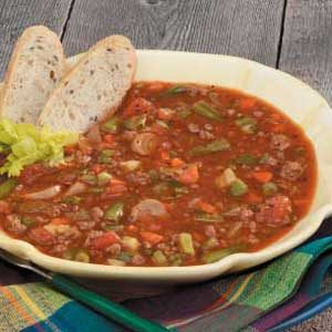 Family Vegetable Beef Soup