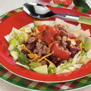 Taco Supper in a Bowl