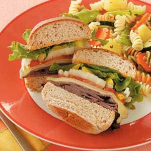 Toasted Zippy Beef Sandwiches