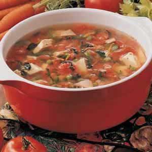 Harvest Turkey Soup