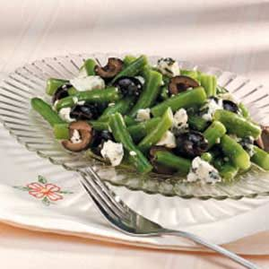 Green Bean and Blue Cheese Salad