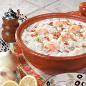 Hearty New England Seafood Chowder