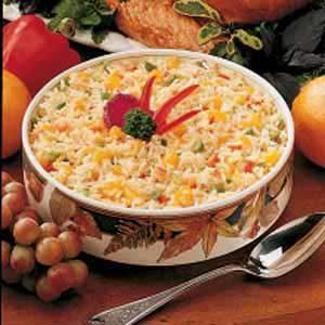 Orange Rice Medley