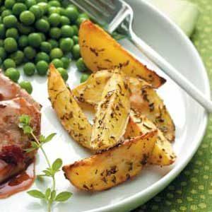 Herb-Crusted Potatoes