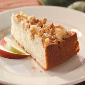 Apple-Topped Cake