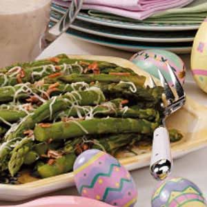 Flavorful Oniony Asparagus