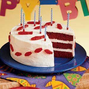"""""""Fishy"""" Red Velvet Cake"""