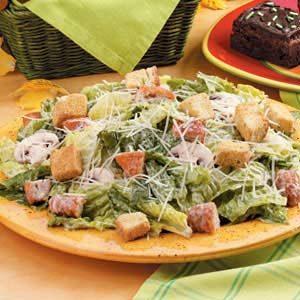Chicken Nugget Caesar Salad