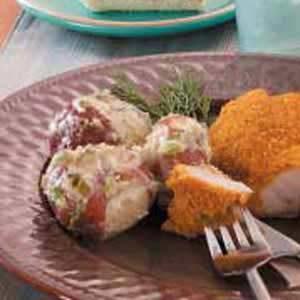 Creamed Dill Potatoes