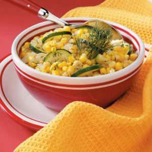 Lemon Corn and Zucchini