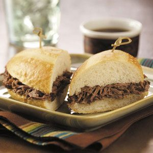 Savory Italian Beef Sandwiches