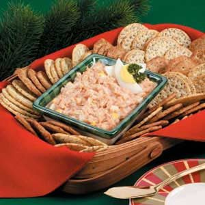 Crab-Egg Cracker Spread