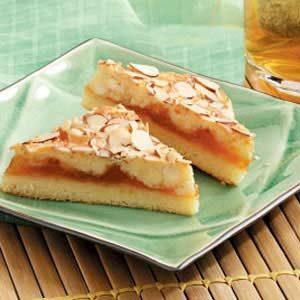 Almond Apricot Bars