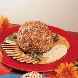 Pecan-Date Cheese Ball