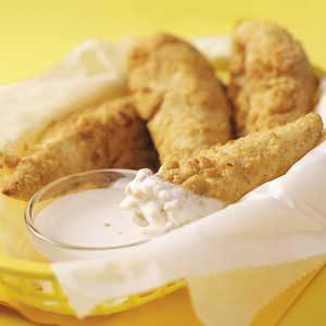 Parmesan Chicken Fingers